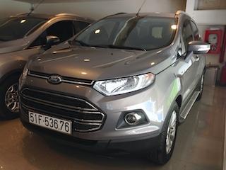 Ford EcoSport 2015 nâu